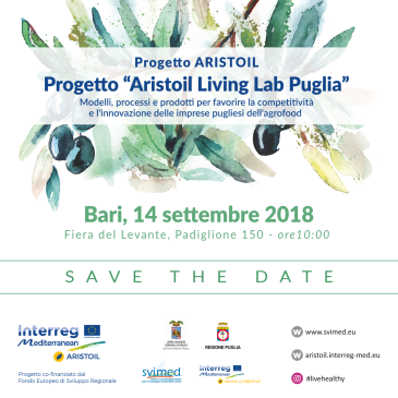 "(Italiano) Conferenza ""Aristoil Living Lab Puglia"", Bari"