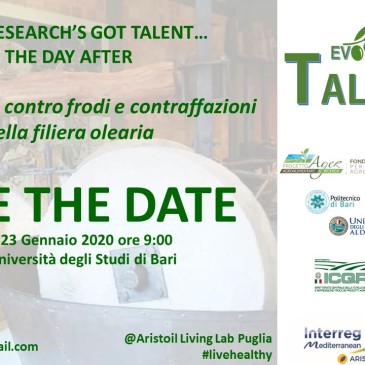 Aristoil at EVOO research's got talent