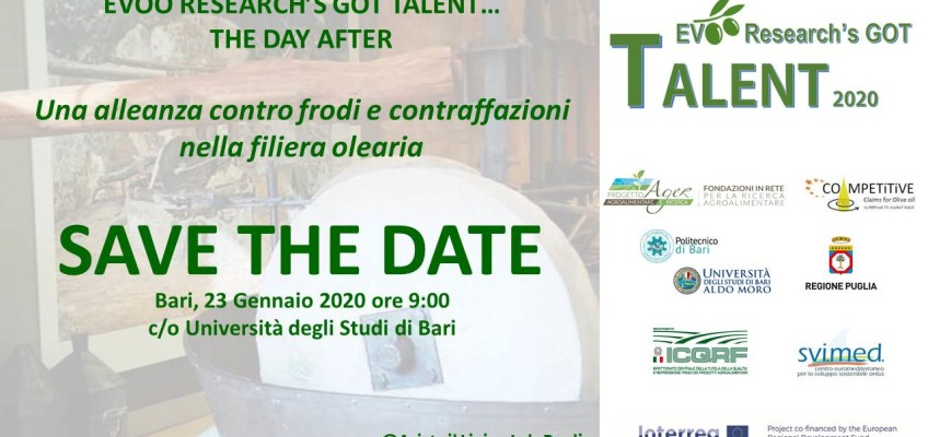 Aristoil a EVOO research's got talent